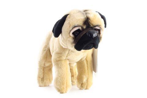 Plyšový pes mopslík