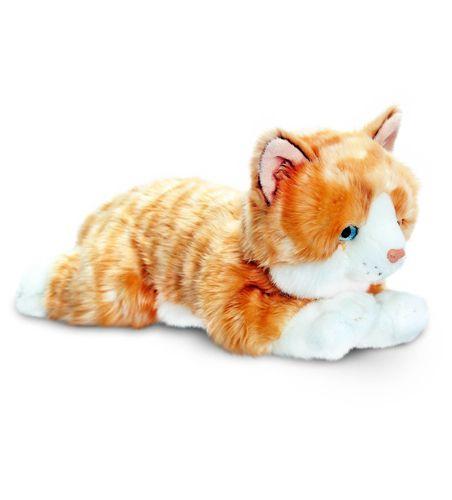 Plyšová hrdzavá mačka