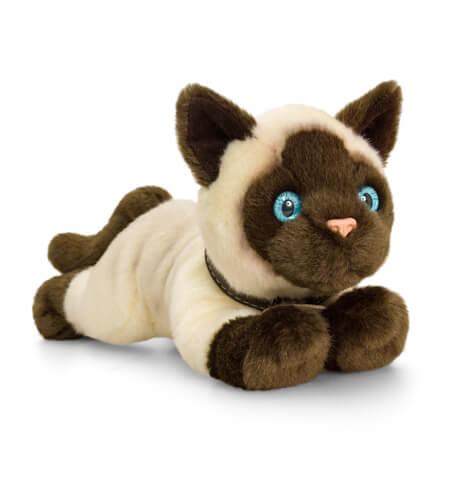 Plyšová mačka siamská