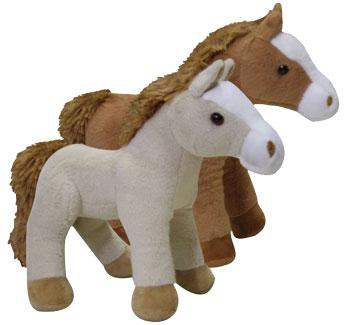 Plyšový kôň stojaci
