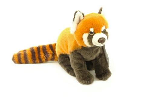 Plyšová panda červená