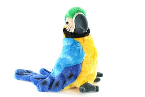 Plyšový papagáj