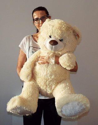 Plyšový medveď biely