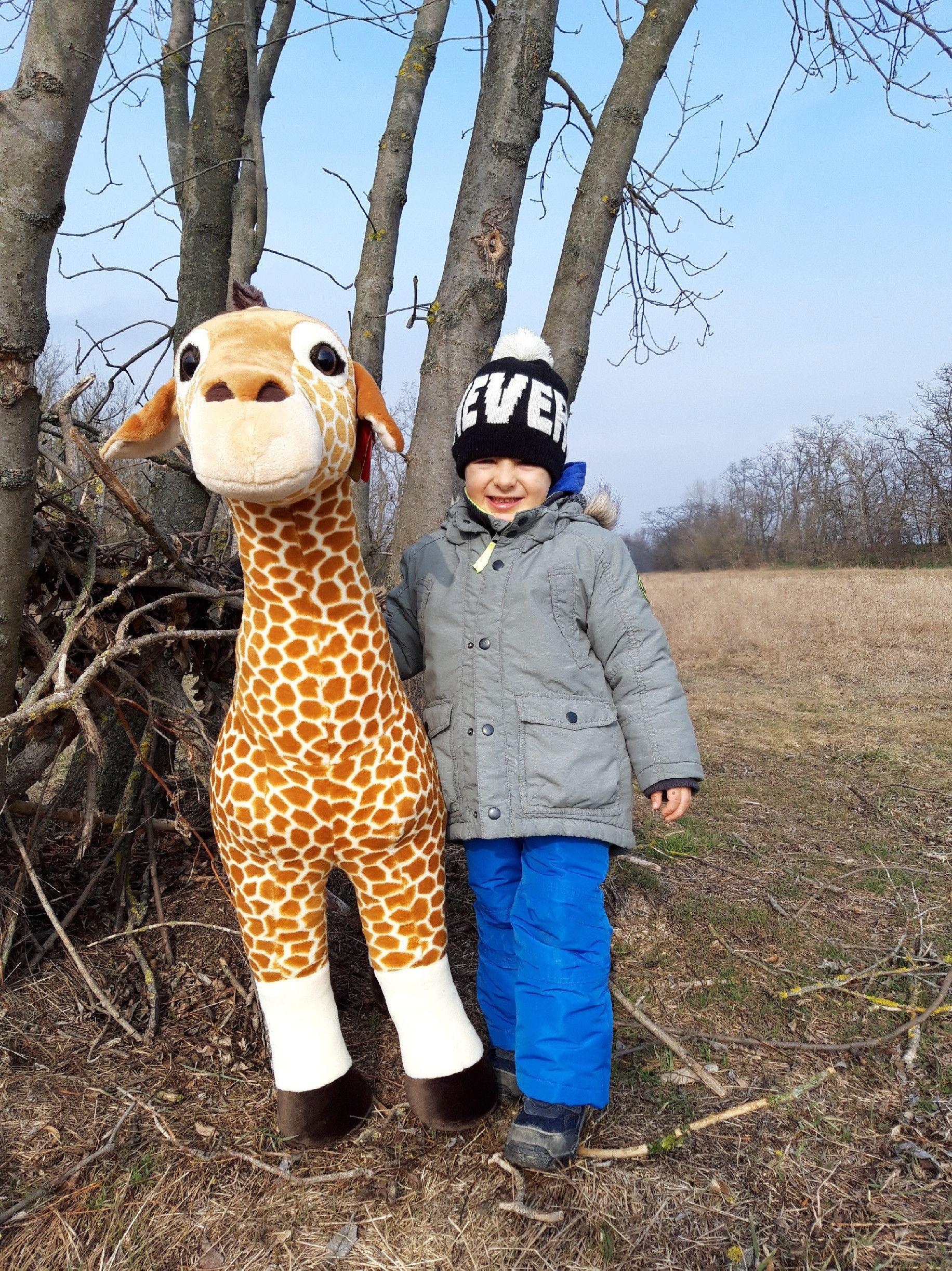 Plyšová žirafa veľká